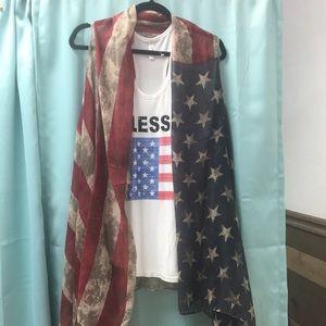 American Pride duster/Kimono